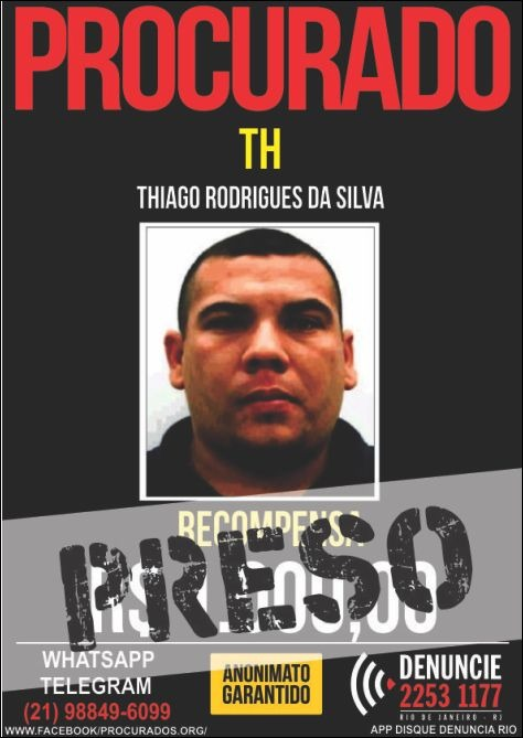 10_8_2017__1_Preso - TH.jpg - uploaded/imgs/noticias/10_8_2017__1_Preso - TH.jpg - Polícia prende chefe de roubo de cargas do Complexo da Pedreira